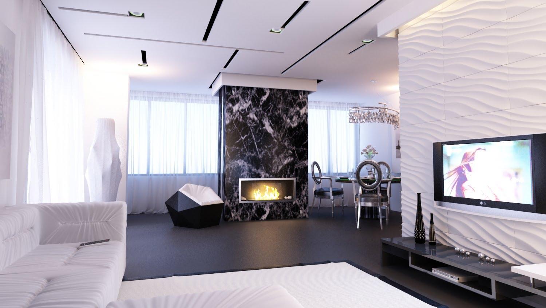 Дизайн двухкомнатных квартир