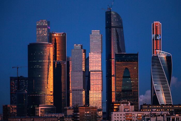 Башня «Федерация» в Москва Сити
