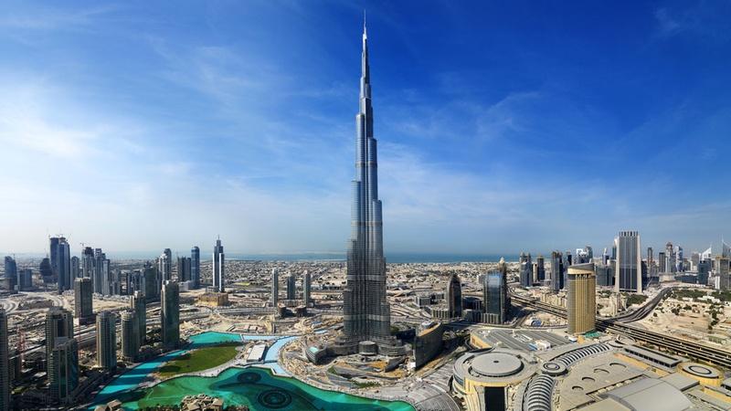 Burj Khalifa в Дубае