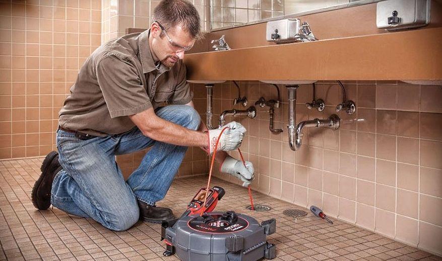 Инспекция канализационных труб 1