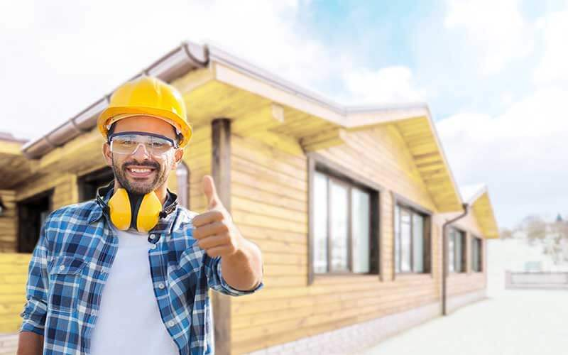 Строительство деревянного дома 1